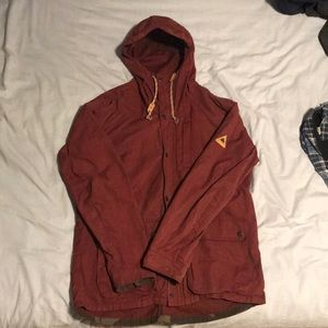 Maroon Burton Winter Jacket